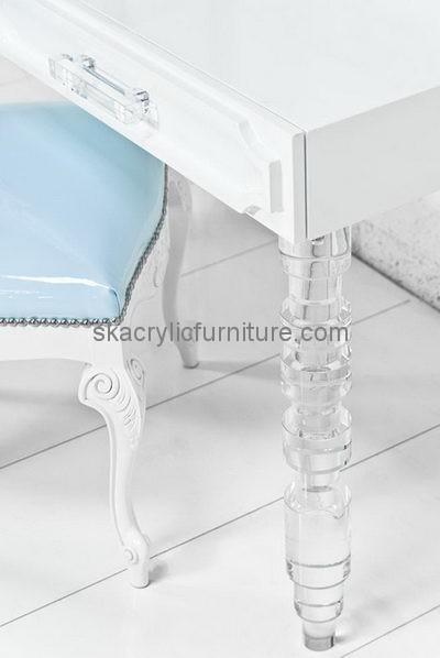 acrylic furniture legs. Acrylic Table Legs Wholesale Plexiglass Lucite AL-008 Furniture