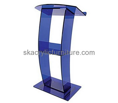 Customized Acrylic Cheap Podium Acrylic Pulpit Furniture Lecterns And  Podiums For Sale AP 046