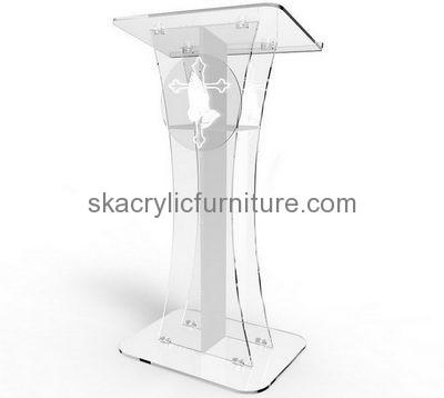 Pleasing Custom Acrylic Modern Podium Design Contemporary Church Machost Co Dining Chair Design Ideas Machostcouk