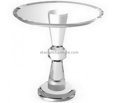 Wholesale acrylic italian furniture acrylic table and chairs round coffee table AT-012
