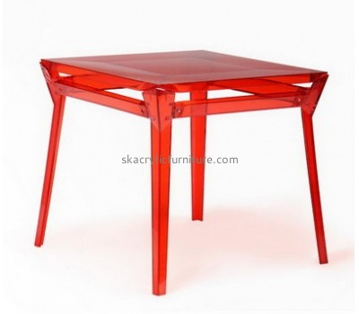 Wholesale acrylic antique furniture acrylic dining table and chairs nude woman coffee table AT-010