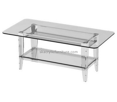 Hot sale acrylic ikea furniture acrylic bar table coffee table set AT-009