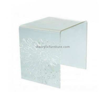 Factory hot sale acrylic hotel furniture coffee table modern onyx coffee table AT-008