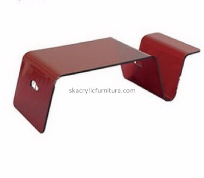 Custom design acrylic ikea furniture acrylic bar table coffee table set AT-013
