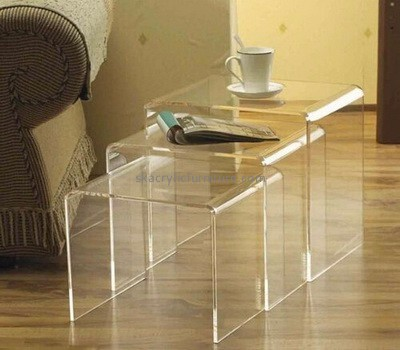 Hot selling acrylic furniture office acrylic bar table sofa side table AT-027