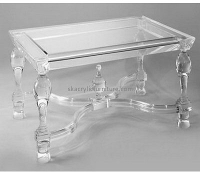 Hot selling acrylic table and chairs table furniture dining table AT-031
