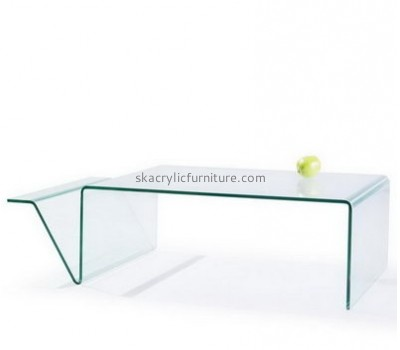 Factory customized acrylic coffee table modern living room furniture acrylic dining table AT-060