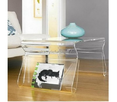 Customized acrylic korea furniture acrylic trunk coffee table chinese coffee table AT-069