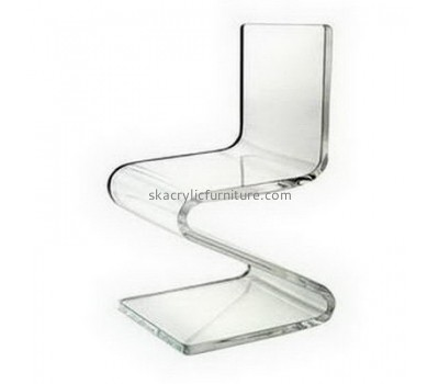Customized acrylic restaurant chair transparent acrylic chair modern z chair AC-001