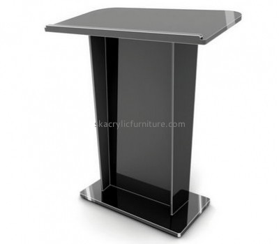 Customized acrylic podium lectern acrylic furniture AP-005