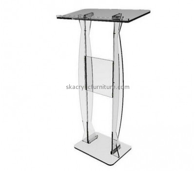 Customized acrylic church podiums pulpit furniture pulpit AP-018