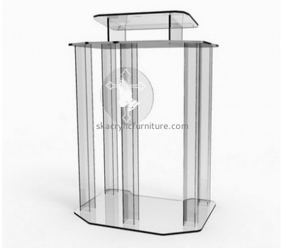 Factory direct sale acrylic church podium the bully pulpit church pulpits AP-020