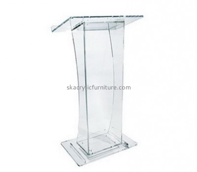 Custom acrylic podium church presentation lectern church lecterns for sale AP-037