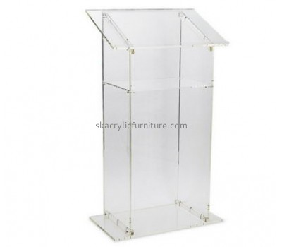 Hot selling acrylic cheap lectern table lectern modern podium AP-040