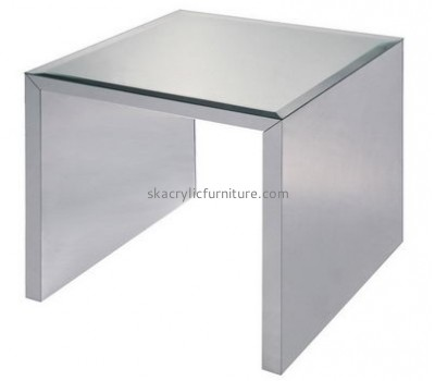 Custom design acrylic plexiglass furniture modern console table coffee tables for sale AT-100