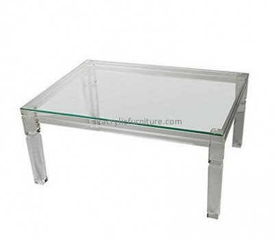 Supplying acrylic plexi furniture clear acrylic side table low coffee table AT-115
