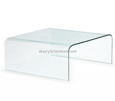 Custom design acrylic luxury furniture clear perspex table coffee and end tables AT-130