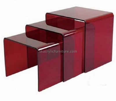 Customized acrylic chinese furniture modern acrylic furniture display coffee table AT-132