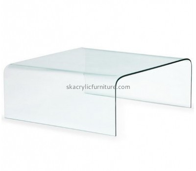 Custom acrylic modern furniture hotel furniture sofa end tables AT-150