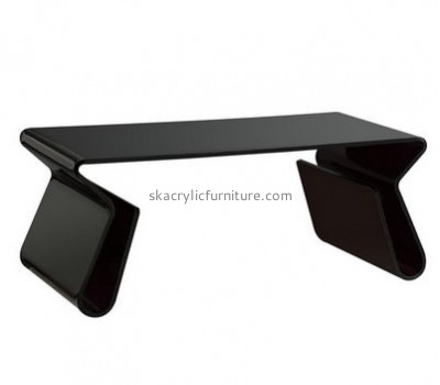 Factory direct sale plastic furniture black side table lucite tables for sale AT-154