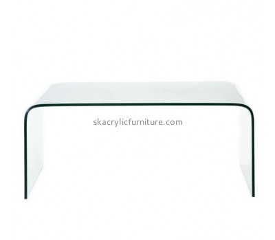 Custom acrylic perspex console table acrylic coffee table for sale coffee tables designs AT-157