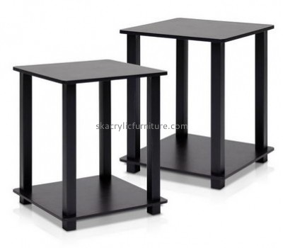 Customized black console tables cheap lucite coffee table small black coffee table AT-181