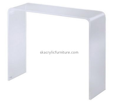 Custom design table living room acrylic lucite coffee table slim console table AT-184