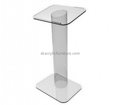 Custom acrylic contemporary pulpit clear lectern podium pulpit AP-065