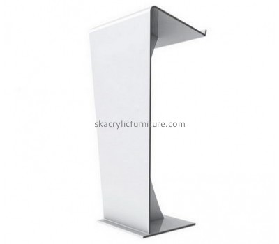 Customized acrylic church podiums church lecturn pulpit furniture for sale AP-077