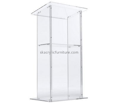 Factory direct sale acrylic lectern podium school lecterns church furniture sale AP-083