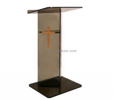 Custom plexiglass lectern acrylic lectern cheap pulpits for church AP-085