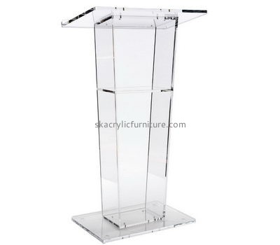 Custom acrylic office podium pulpit acrylic pulpits church AP-088