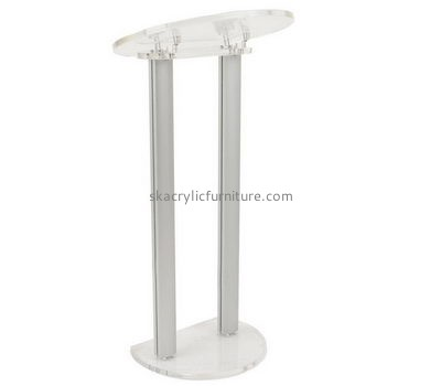 China church furniture manufacturers custom acrylic pulpits church lectern podium AP-089