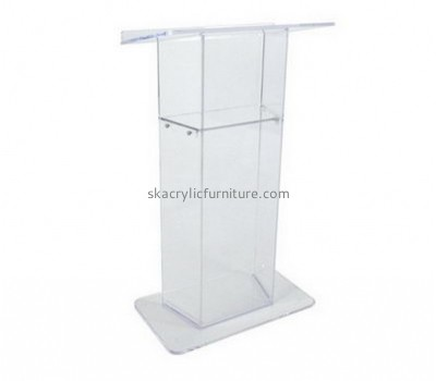 Custom acrylic church podiums and pulpits presentation lectern pulpit podiums for sale AP-119