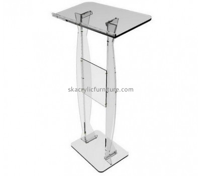 Custom acrylic cheap church pulpit clear podium church cheap lecterns for sale AP-128