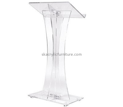 Custom lectern church lecterns and pulpits acrylic church lecturn AP-133