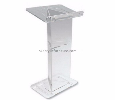 Customized acrylic pulpit podium lectern pulpit clear pulpits for sale AP-149