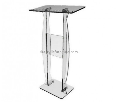 Customized acrylic modern church pulpit designs classroom lectern pulpit for church AP-155
