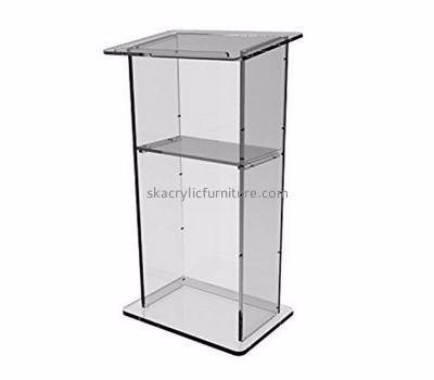 Custom acrylic pulpit designs lecterns and podiums acrylic lecturn AP-169