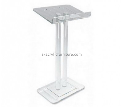 Custom acrylic podiums and lecterns simple podium cheap pulpits for sale AP-175