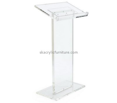 Customized acrylic church pulpit podium pulpit podium lecterns and podiums AP-183