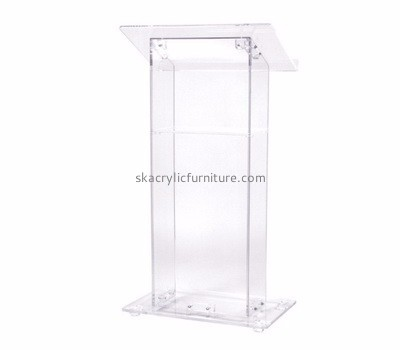 Customized acrylic podium furniture church lecterns and pulpits podium lectern AP-185