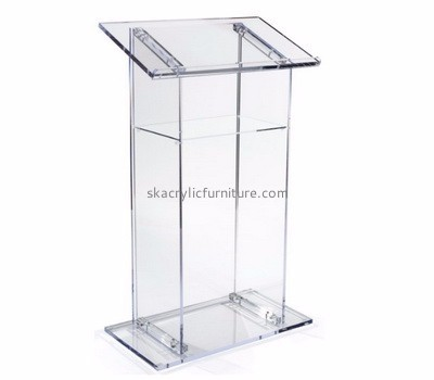 Custom design acrylic reading podium pulpit furniture for sale AP-213