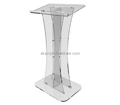 Custom acrylic school lecterns and podiums cheap pulpits for sale AP-215