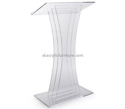 Custom acrylic book podium stand designs pulpit furniture for the church AP-216