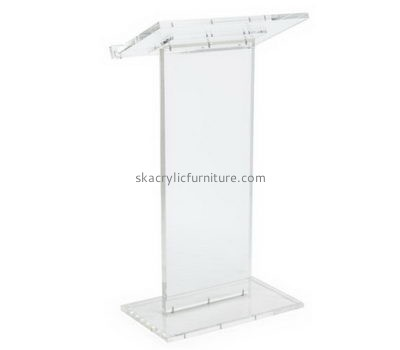 Customized clear acrylic church podiums pulpits AP-224