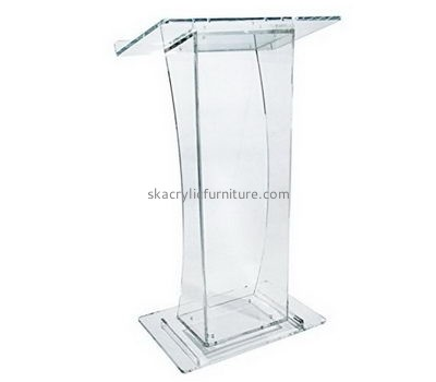 Custom acrylic cheap church pulpit lecterns and presentation podiums AP-226