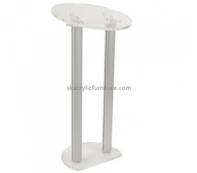 Custom acrylic church pulpit stands podiums and lecterns AP-242