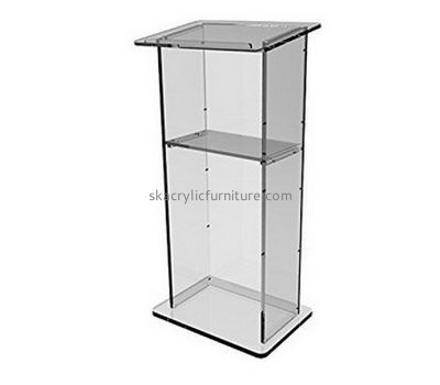 Custom acrylic pulpit contemporary church lecterns and podiums AP-260