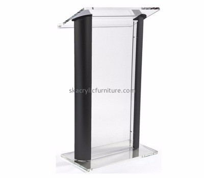 Customized plexiglass acrylic podiums and pulpits AP-261